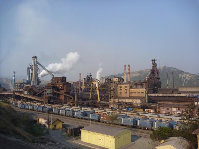 Stahlwerk bei Safranbolu