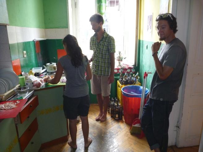 Ein letztes mal gemeinsam kochen