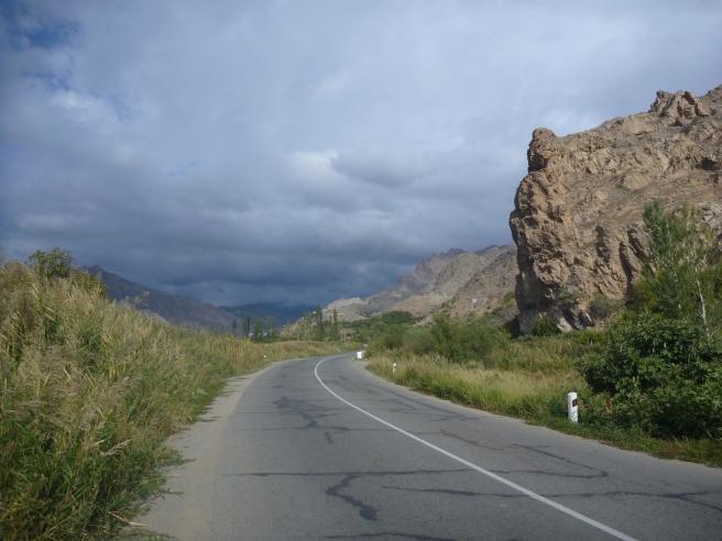 Straße Richtung Iran