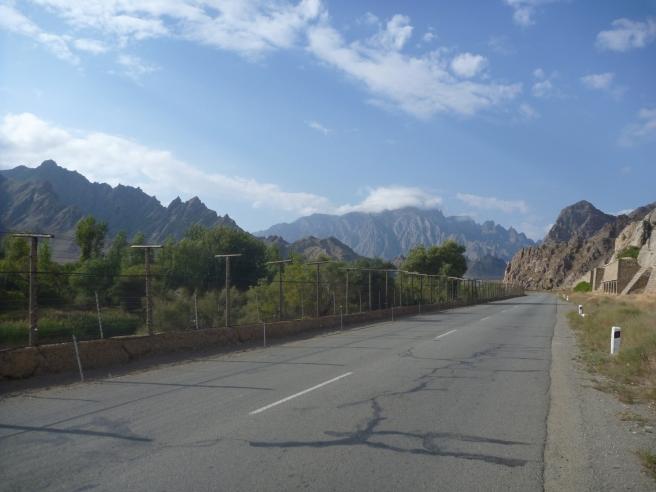 Grenzzaun zum Iran
