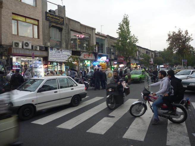 Verkehr in Teheran